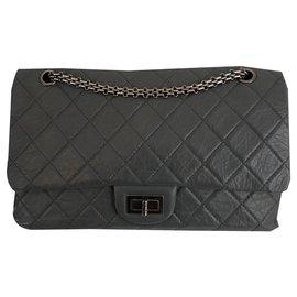 Chanel-Reissue 2.55-Grey