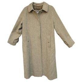 Burberry-Burberry coat in Harris Tweed-Khaki