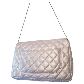 Chanel-Sac Chanel Reissue 2.55 jumbo flap-Metallic