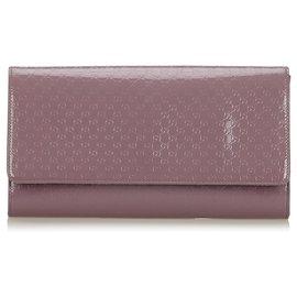 Gucci-Pochette Gucci Purple Microguccissima Broadway-Violet