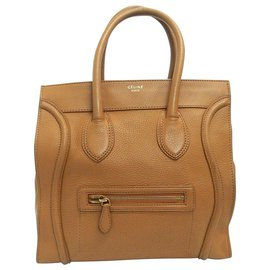 Céline-Céline Mini Luggage-Brown