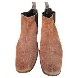 Prada-Prada boots-Light brown