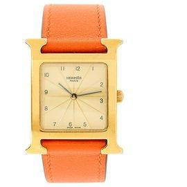Hermès-TIME H 26 MEDIUM GOLDEN-Golden