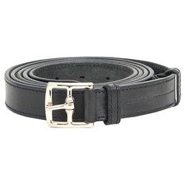 Hermès-ETRIVIERE T80 BLACK lined TOUR-Black,Silvery