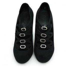 Chanel-SILVER QUILT FR39-Black