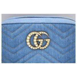 Gucci-Sacs à main-Bleu