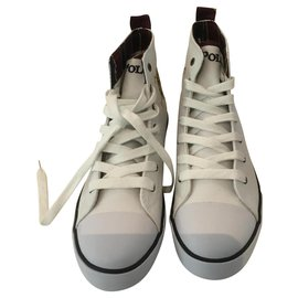 Polo Ralph Lauren-Sneakers-White