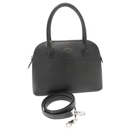 Hermès-HERMES SAC BOLIDE 27-Noir