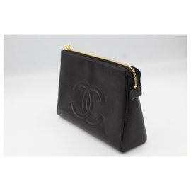 Chanel-Chanel pouch / clutch-Black