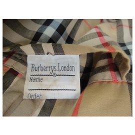 Burberry-Waterproof Burberry vintage size 50-Beige