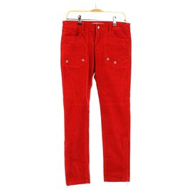Zadig & Voltaire-Trousers-Red