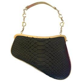 Christian Dior-Clutch bags-Black