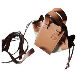 Loewe-Handbags-Beige,Caramel