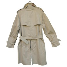 Burberry-Burberry Vintage Trencher 50-Light brown