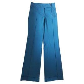Patrizia Pepe-Pants, leggings-Blue
