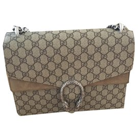 Gucci-Dionysus-Silvery,Beige,Taupe