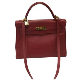 Hermès-Kelly 32-Rouge