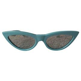 Céline-Cat-eye paste blu sunglasses-Light blue