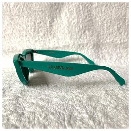 Céline-Cat-eye pastel green/turquoise sunglasses-Turquoise