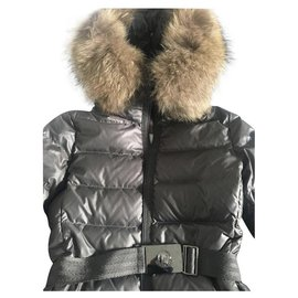 Moncler-Manteaux, Vêtements d'extérieur-Argenté
