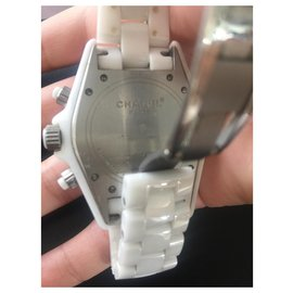 Chanel-J12 Automatic chronograph-White