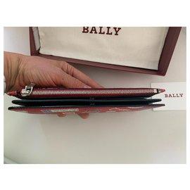 Bally-Bally Wallet-Red