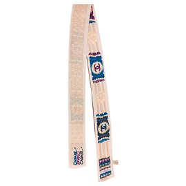 Chanel-Silk scarves-Blue