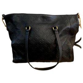 Louis Vuitton-Handbags-Golden,Navy blue