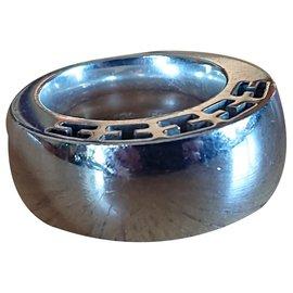 Hermès-Clarity Ring-Silvery