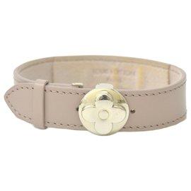 Louis Vuitton-Louis Vuitton Bracelet Hockenheim-Beige
