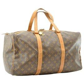 Louis Vuitton-Louis Vuitton Sac souple 45-Marron