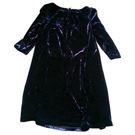 Claudie Pierlot-Dresses-Blue