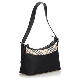 Burberry-Burberry Black Nylon Shoulder Bag-Black,Multiple colors