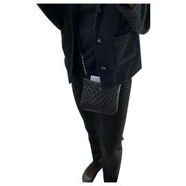 Chanel-chanel crossbody-Noir