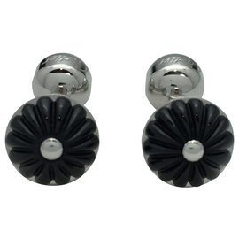 Cartier-Cartier cuff links in silver.-Other