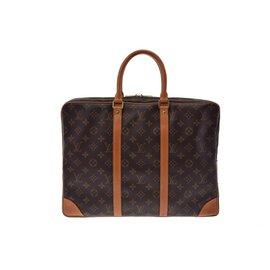Louis Vuitton-Louis Vuitton Porte-documents-Marron