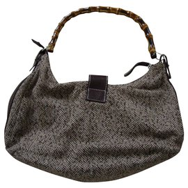 inconnue-Handbags-Grey