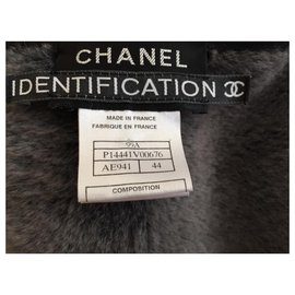 Chanel-Authentic chanel real fur shearling sheepskin-Brown