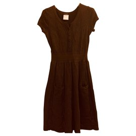 Chanel-Dresses-Dark brown