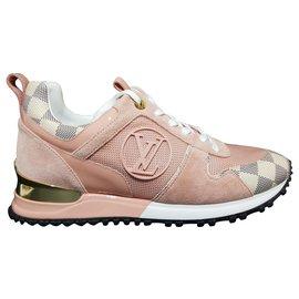 Louis Vuitton-sneakers-Rose,Multicolore