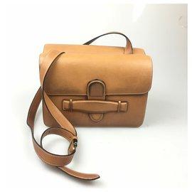 Céline-Celine Brown Medium Symmetrical Bag-Brown,Light brown