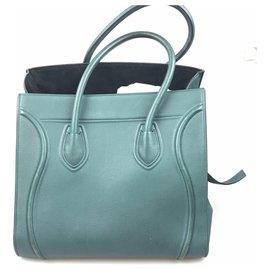 Céline-cabas Mini valise Celine Green-Vert