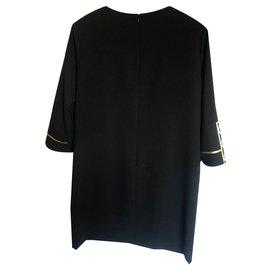 Moschino-Dresses-Black