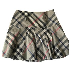 Burberry-Skirts-Grey
