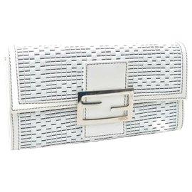Fendi-Fendi Wallet-White