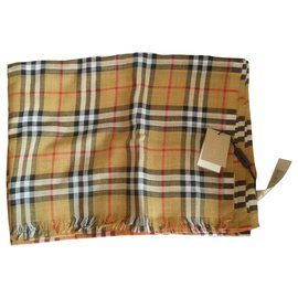Burberry-Silk scarves-Multiple colors