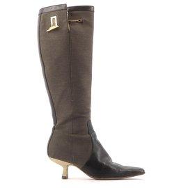 Gucci-boots-Black