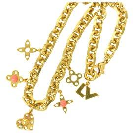 Louis Vuitton-Collier Louis Vuitton-Doré