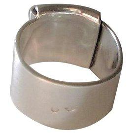 Hermès-FOLDING RING-Silvery