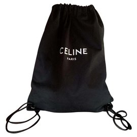 Céline-Backpacks-Black
